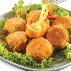 CB Salmon Ball with Cheese