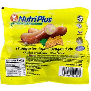 Nutriplus Chicken Cheese Frankfurter