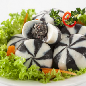 CB Seafood Ball with Squid Ink