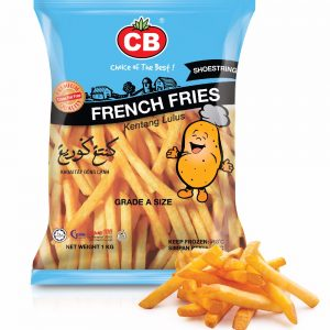 CB Shoestring Fries