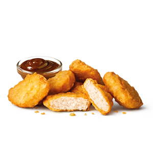 Likes Tempura Chicken Nugget
