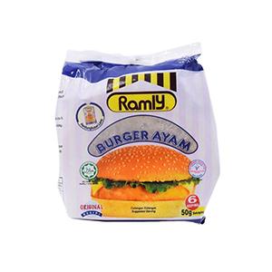 Ramly Chicken Patty – 50g / pc