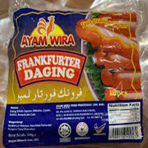 Ayamwira Beef frankfurter