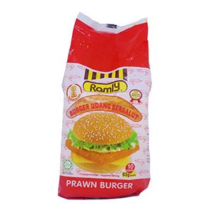 Ramly Shrimp Burger